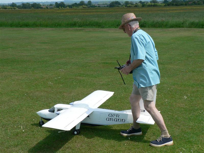Islander-Engine-Run-up